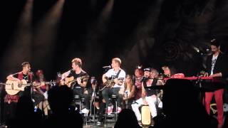 Group A Concert - Sweet Home Alabama, I Want It That Way, and 10,000 Promises acoustic