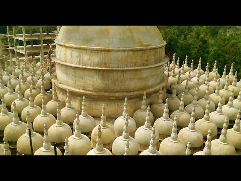 201 dome Mosque at Pathaliya, Gopalpur, Tangail, Bangladesh ২০১ গম্বুজ মসজিদ গোপালপুর, টাঙ্গাইল।