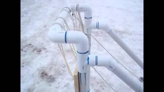 Pvc/wood Hybrid Klondike Sled