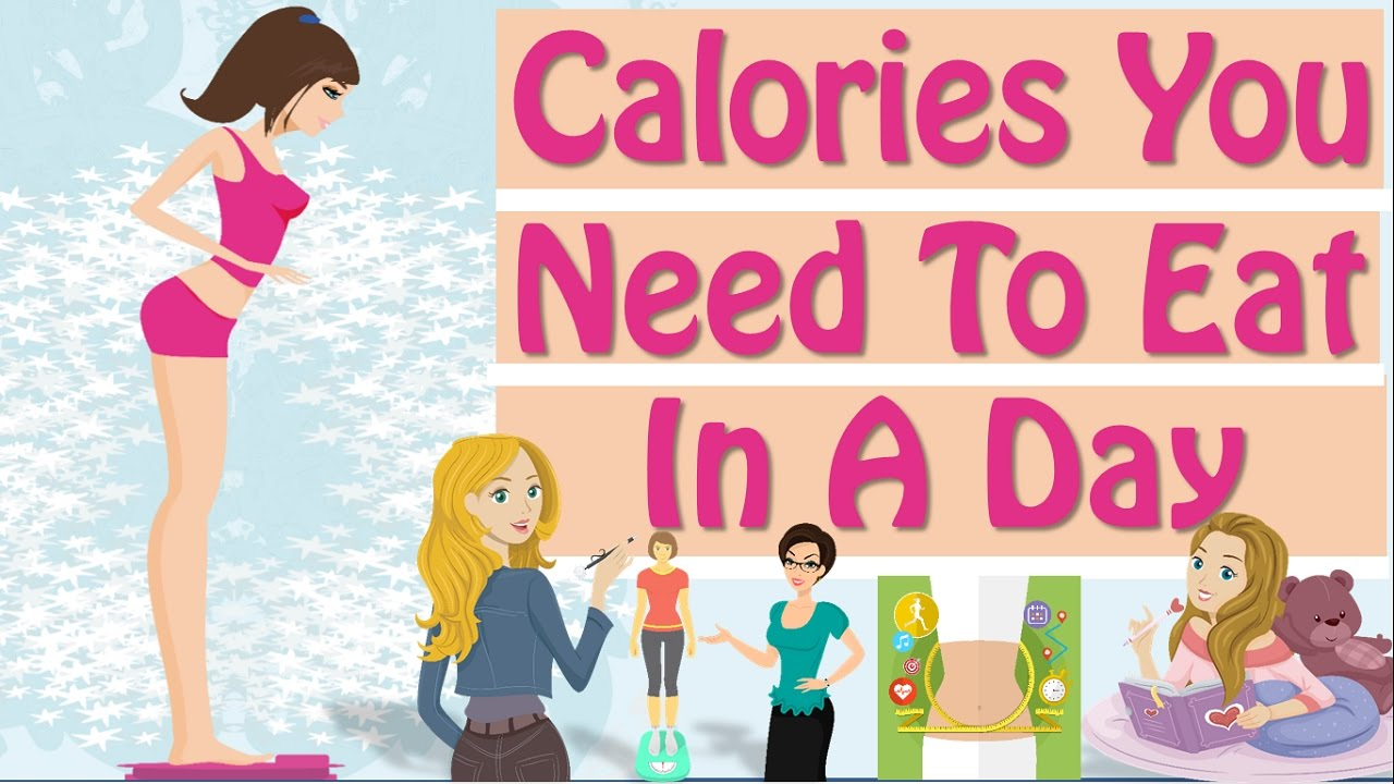 How Many Calories To Lose Weight! How Many Calories Should ...