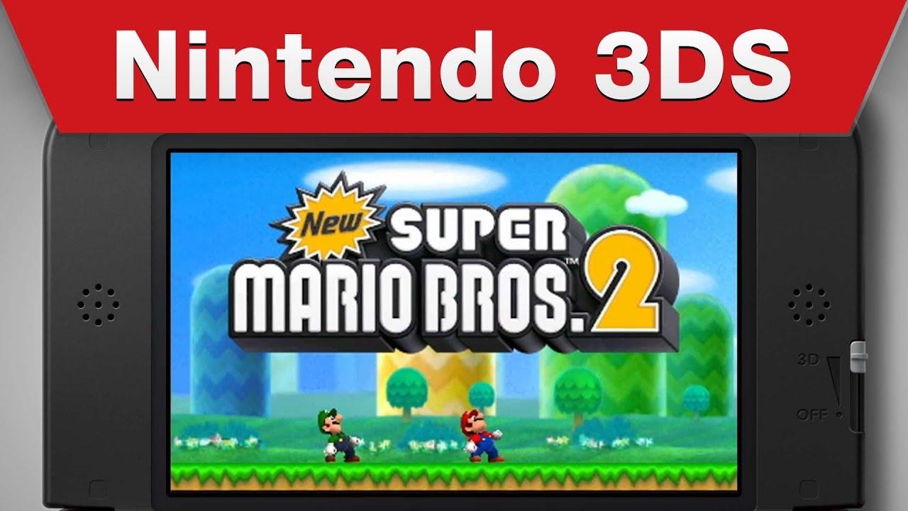 Nintendo 3ds New Super Mario Bros 2 Info Video Youtube
