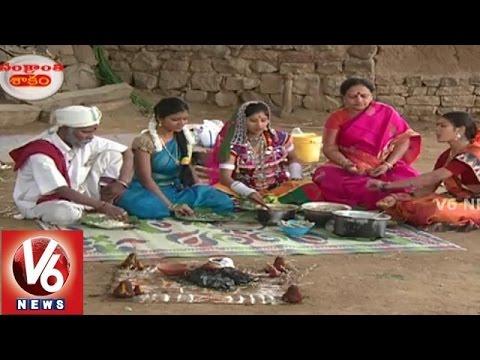 Teenmaar Team In V6 Telangana Shakam || Sankranthi Festival Recipe || V6 News