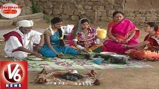 Teenmaar Team In V6 Telangana Shakam    Sankranthi Festival Recipe    V6 News