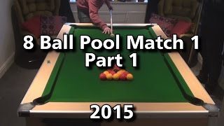 8 Ball Pool 2015- Match 1- Part 1