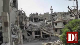 Reportage Syria: Homs, the city of the clock
