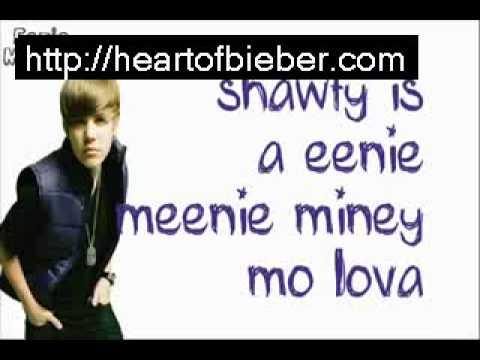 Justin Bieber Eenie Meenie FULL SONG LYRICS!!! My World 20+ LINK FOR DOWNLOAD !!!!!!