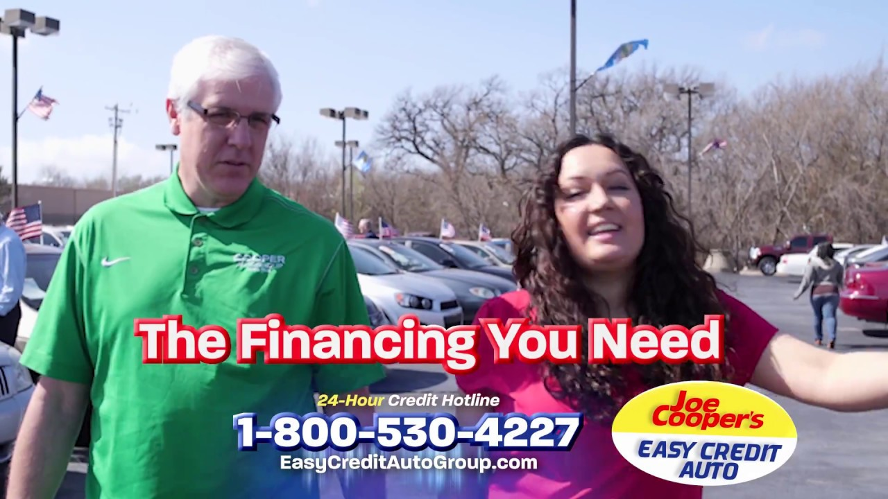 Joe Cooper Easy Credit >> Have A Job Get A Car Loan Here In House Financing Joe Cooper S Easy Credit Auto 73110