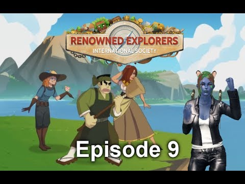 Let's Play Renowned Explorers International Society: Episode 9 - Hungarian Forest Adventure