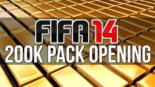 FIFA 14 200k Pack Opening - Never Give Up