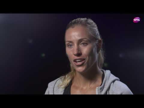 Angelique Kerber   2017 Rogers Cup Pre-Tournament Interview