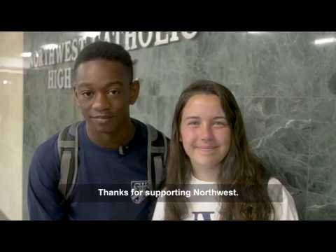 Northwest Catholic High School 2017-18 year-end video