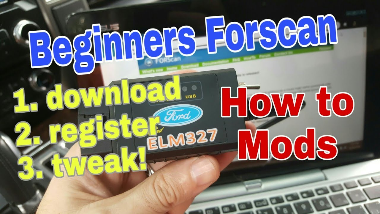 Ford Forscan what where how to get started