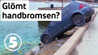 Vägens hjältar | Bil har rullat över kajkant i Gustavsbergs hamn | Onsdagar 20.00 på Kanal 5 & Dplay