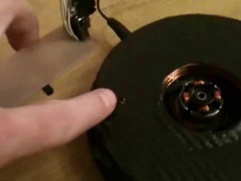Устройство панорамной светодиодной индикации. Rotating LED POV display.