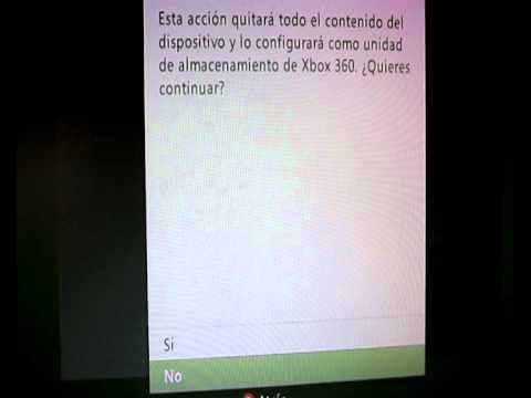 Video Tutorial Formatear USB con la Xbox360 - YouTube