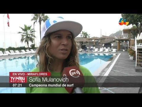 Sofía Mulanovich es presentada como embajadora de Panamericanos Lima 2019