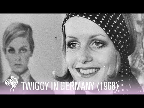 Twiggy Footage - The Original 1960s Fashion Icon