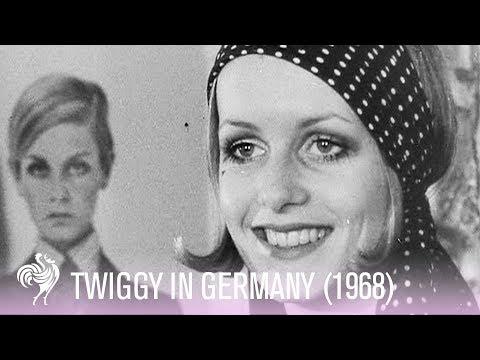 Twiggy Footage  The Original 1960s Fashion Icon