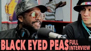 "Black Eyed Peas on ""Where Is The Love"" (Ft The World) And More! (Full Interview) 