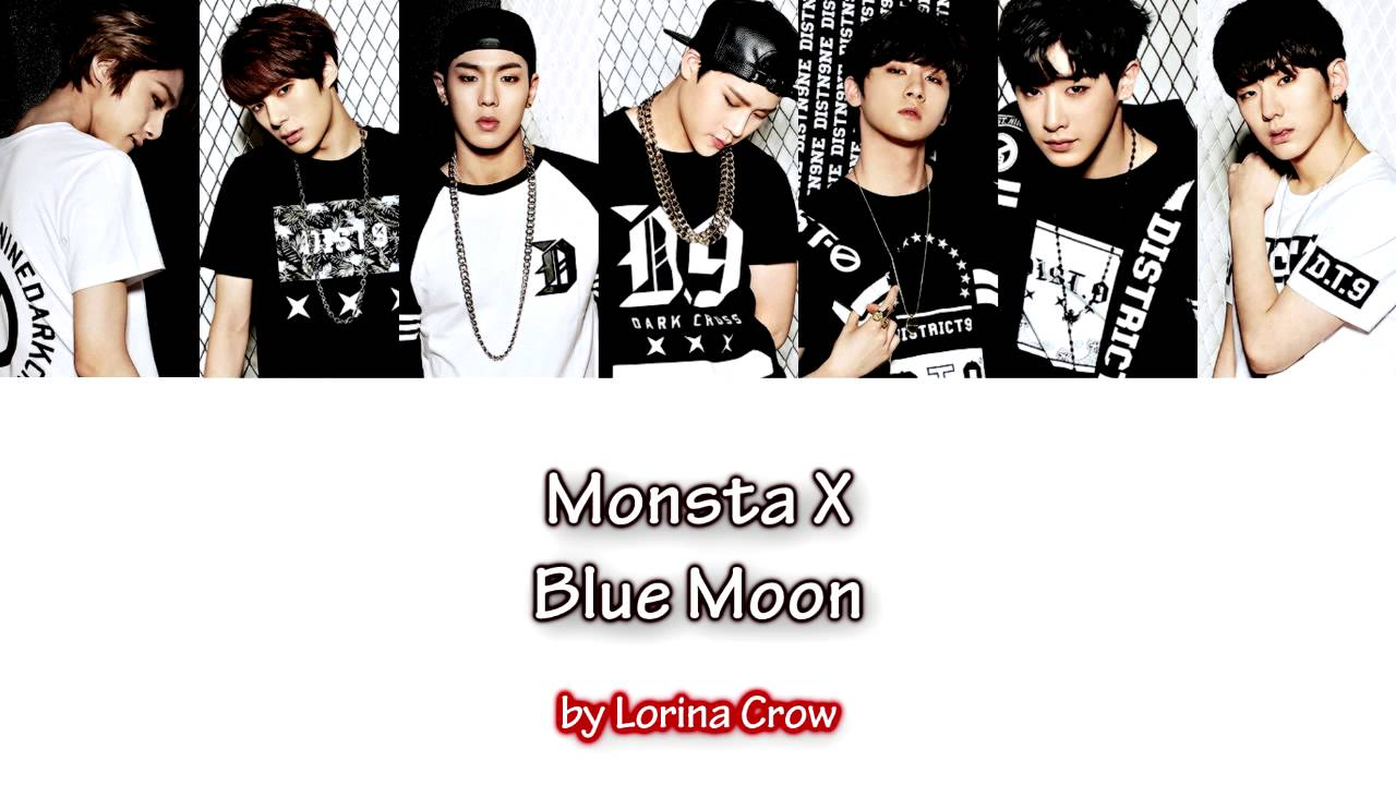 Monsta X Blue Moon Color Coded Hanromhun Sub Youtube