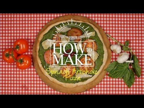 How to make spinach artichoke pizza!