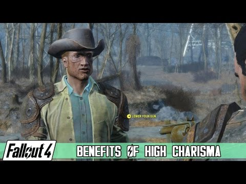 Fallout 4 - Benefits of High Charisma [Quick Example]