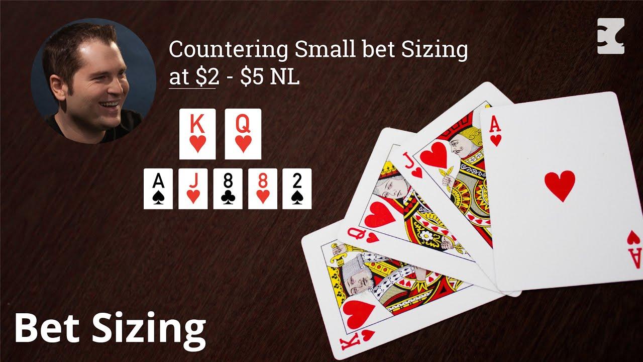 Bet Sizing Pokerstrategy