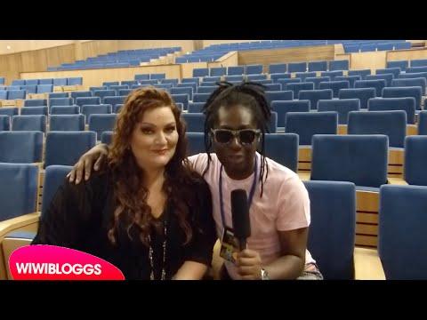 Interview: Hera Björk (Iceland 2010) - Eurovision Live Concert Setúbal 2015 | wiwibloggs