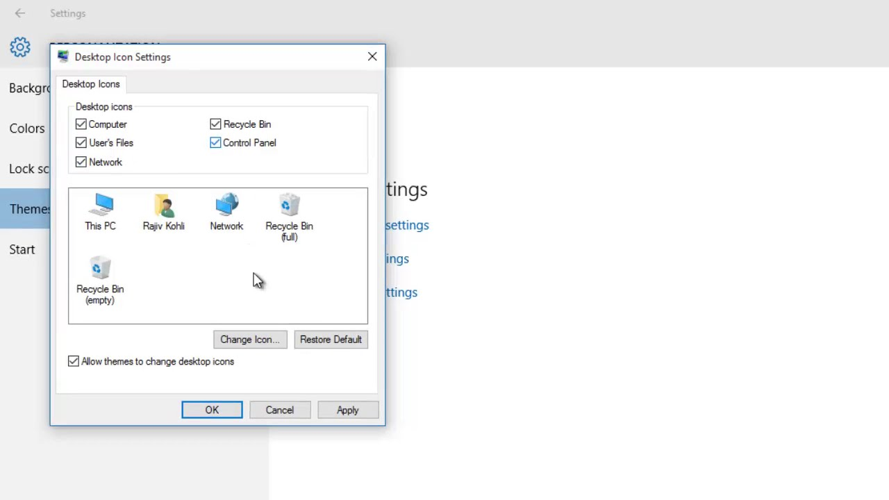 hide ini files in windows 10