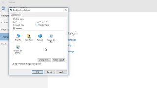 How To Show or Hide Desktop System Icons in Windows 10 Tutorial