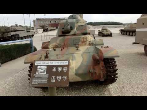 French Renault R35 Tank used by the Syrian Army invading Israel in 1948 war