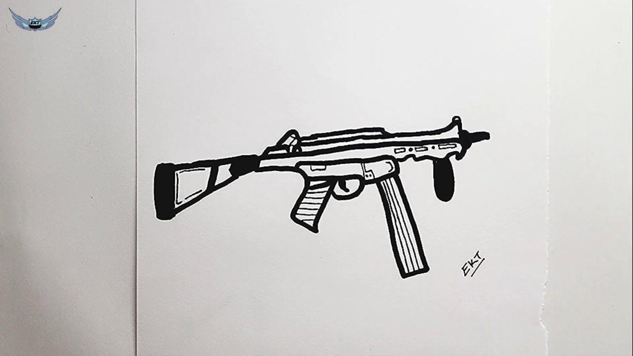 Pubg Ump Silah Nasil Cizilir Kolay Resim Cizme Cizim