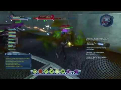 DCUO Future Batman Legends PVP Gameplay