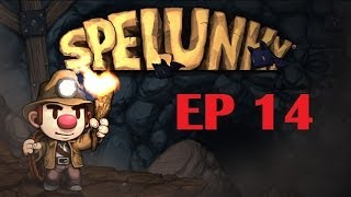 Time for : Spelunky EP 14 : Succesful and legitimate eggplant run ! (Co-op)