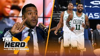 Jim Jackson believes the flight helped the Celtics connect to blowout the Warriors | NBA | THE HERD