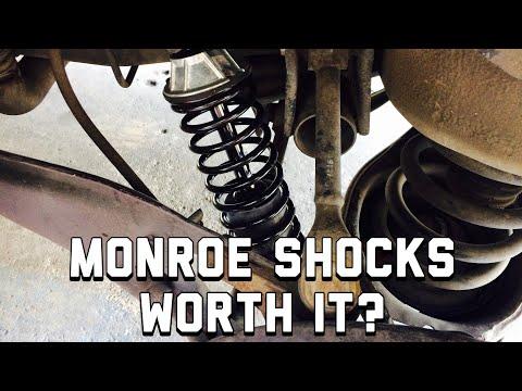Best Rear Shocks For A Honda Odyssey - Monroe Shocks 58645 Review - Rockauto.com