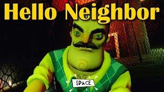 Hello Neighbor Release Прикол в подвале an interesting point in the basement