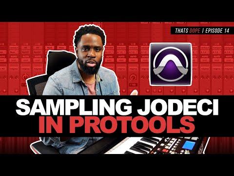 Pro Tools Beat Making | Sampling Jodeci | That's Dope Episode 14