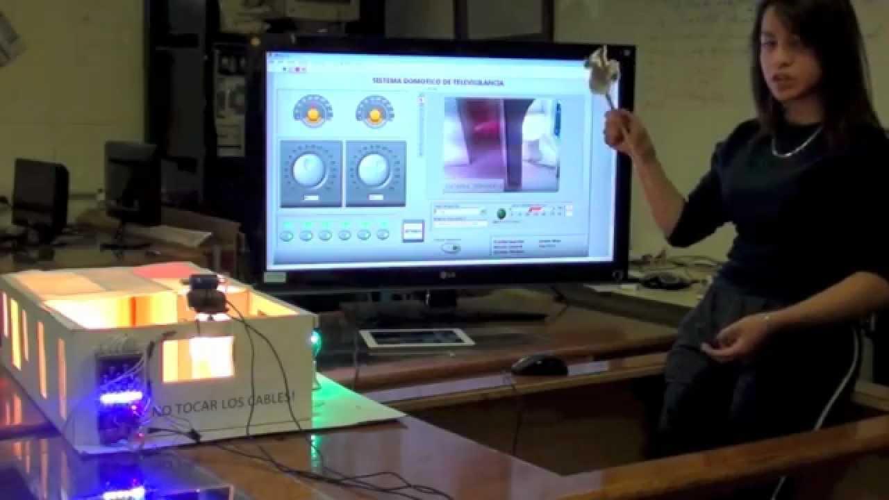 Control domótico de televigilancia con arduino controlled