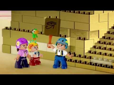 LEGO-Disney Джейк и ПИРАТСКИЕ СОКРОВИЩА - серия 1 -Золотая пиратская пирамида|мультик Лего о пиратах
