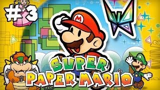 Super Paper Mario : Episode 3 | Let's Play [Live]
