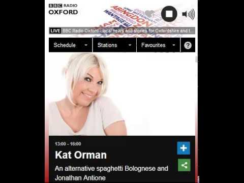 Jonathan Antoine BBC Radio Oxford interview.