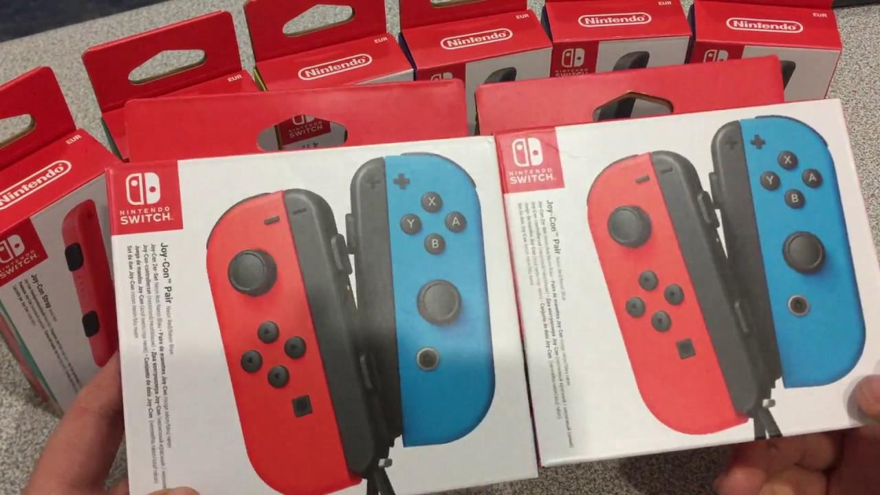 Nintendo Switch Joy-Con Kutu Açılışı! - YouTube