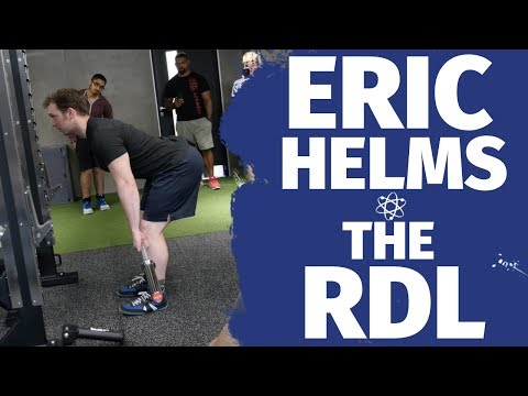 Eric Helms RDL... How To Series - How To RDL Properly