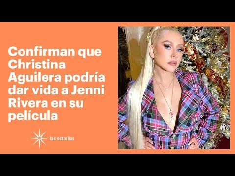 Confirman que Christina Aguilera podría dar vida a Jenni Rivera en su película | Las Estrellas