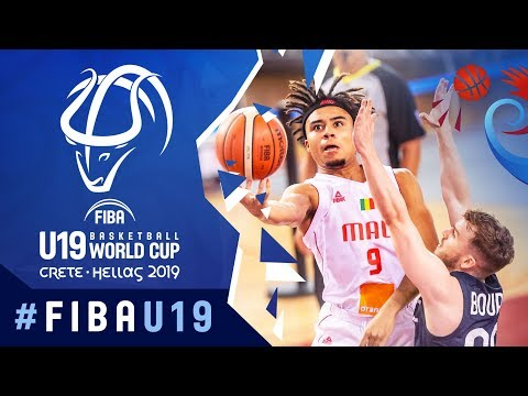Mali v France - Highlights - Semi-Finals - FIBA U19 Basketba