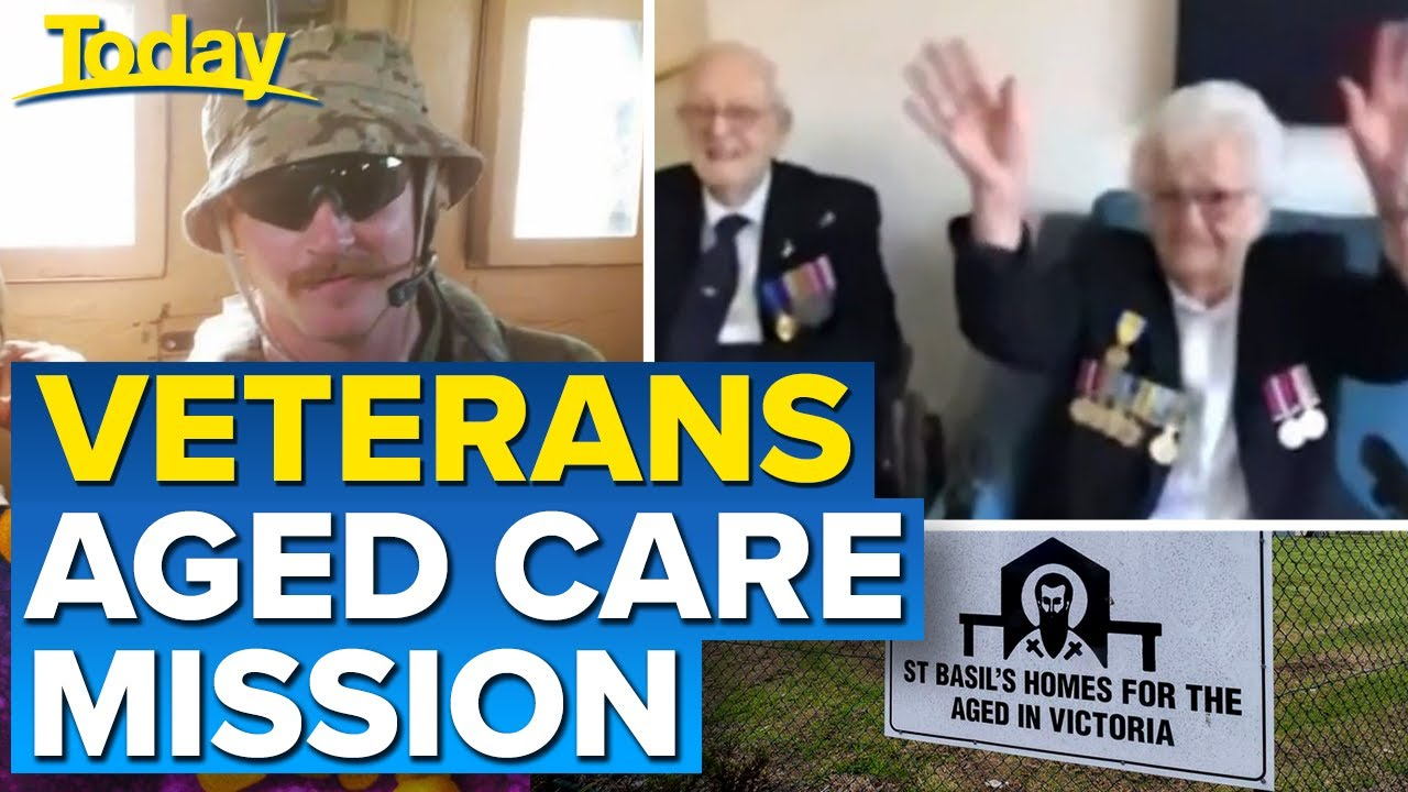Coronavirus: Veterans being trained to assist Victorian aged care homes | Today Show Australia
