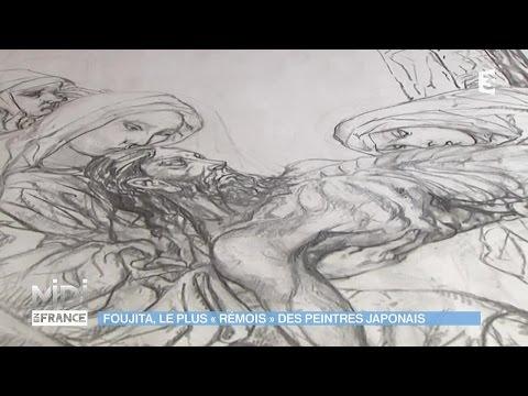 """VU D'ICI : Foujita, le plus """"Rémois"""" des peintres Japonais"""