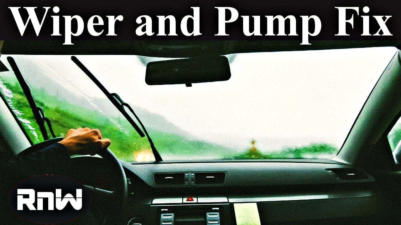 Windshield Washer Pump and System Diagnosis  YouTube