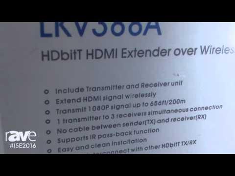 ISE 2016: Lenkeng Introduces LKV3882 HDBitT HDMI Extender over Wireless